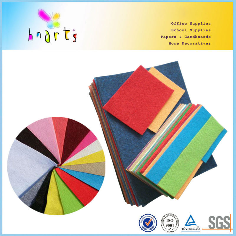 China factory soft color felts for DIY crafts decoration