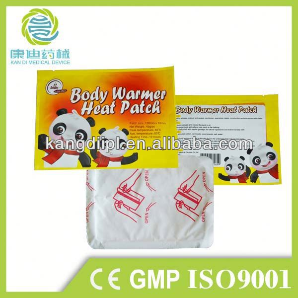 China made long heating time body warm snap hand warmers