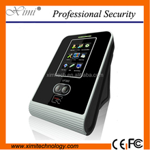 Linux system biometric face recognition door access time attendance system with free software WIFI communication