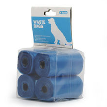good quality pet product printing design dog poop bag refill roll with holder