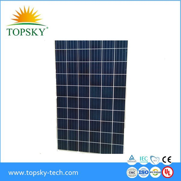 2017 Best quality cheap price stock 250W 255W 260W 265W Poly solar panel solar module PV module in China with full certificate