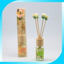 Aroma Reed Diffuser with wooden Cap and Sticks
