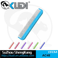 Stainless steel rotate pins dog comb, pet comb, dog grooming comb