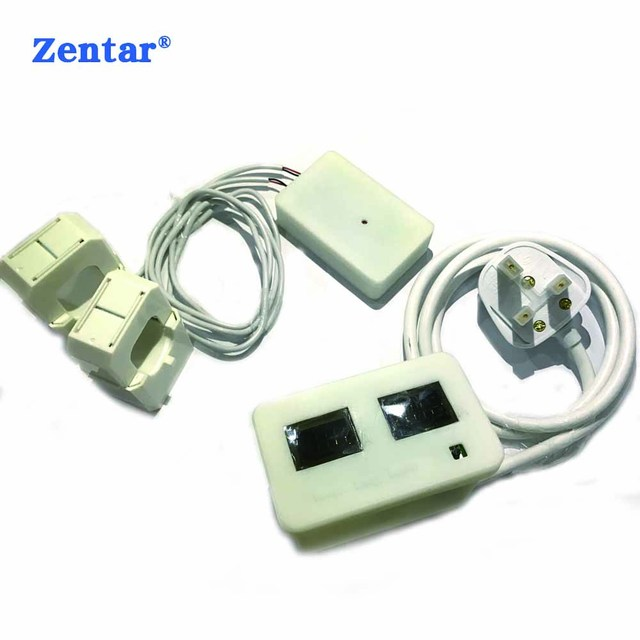 home energy monitoring system electricity usage monitor wireless current meter