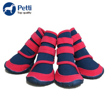 Pet accessories classic non slip waterproof dog boots