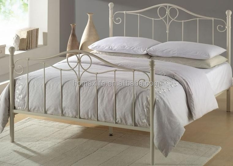 home furniture wrought iron bed DB-4726