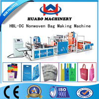 The newest Ultrasonic non woven fabric bag making machine price with factory price