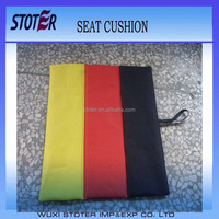 Germany flag sport stadium seat cushion with logo