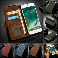 Grid Premium Leather Case For iPhone 6 iphone6s Cover Phone Case Wallet for iphone 6s plus Stand Flip Luxury Retro Vintage