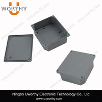 IP67 Protection Level Junction Box Type New Aluminium Die Cast Waterproof Enclosure 166 x 141 x 65 mm