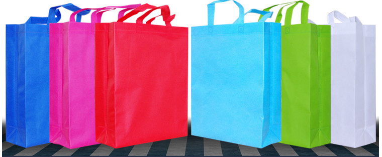 promotional reusable supermarket grocery foldable polyester nonwoven shopping bag