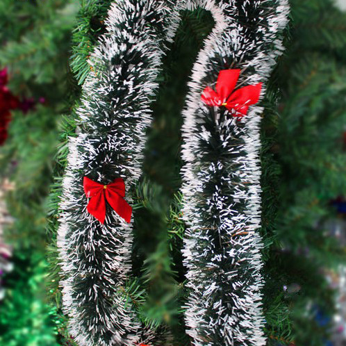 SD213 Christmas decoration color top ribbon garland Christmas tree ornaments