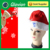 Best seller led lighted glow hat Christmas hat for promotion Flashing Santa Cluas Hat