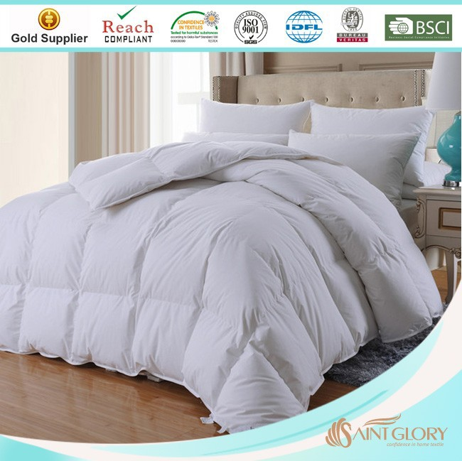 best quality home textile bedding goods down and feather duvet
