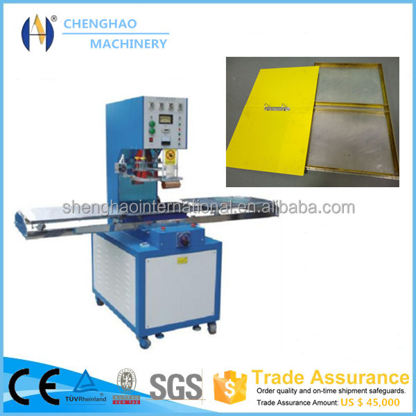 Hot selling CH-8KW-SDHT pvc heat sealing machine Leather File Folder with CE/ISO certificate