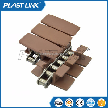 Plast Link OEM Customized Wholesale Flex Slat Top Conveyor Chain