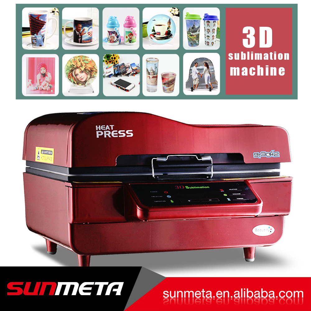 Sunmeta Original Factory 3D Heat Transfer Printing Machine ST-3042 for sale