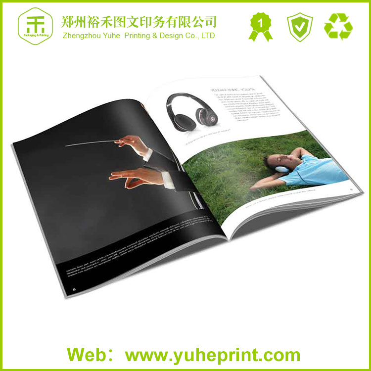 Wholesale cheap full colour well-designed experienced factory saddle stitching travel brochure