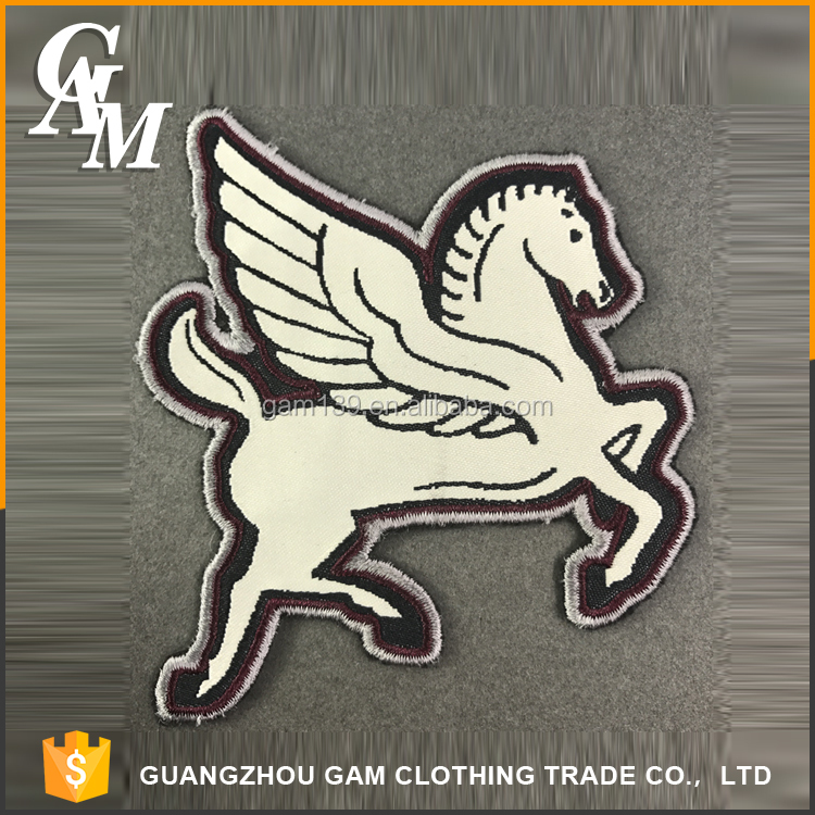 In 2017, environmental protection, practical, popular, custom flying animals style logo embroidery patch