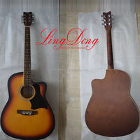 Qualitied new products cheap acoustic electric guitar