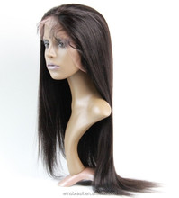 Factory Sell 7A Brazilian Lace Front Wig Silky Straight Human Hair Wigs for Black Women