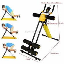 Glider Workout Home Gym Core Crunch Ab Fitness Exercise Machine Abdominal Equipment