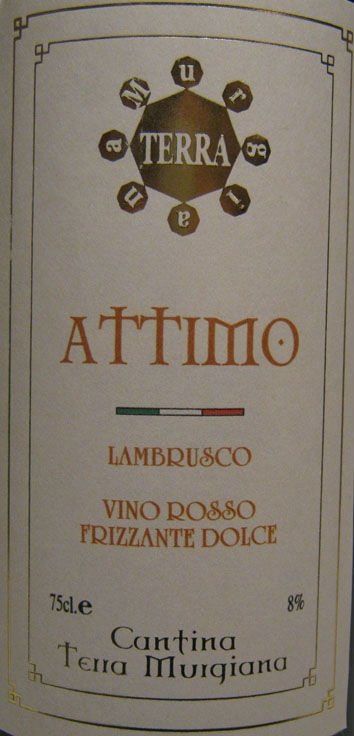 LAMBRUSCO SWEET SPARLING RED WINE