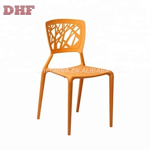 New Colorful Outdoor Furniture Plastic Dining Chair