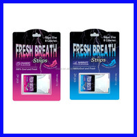 Prfessional Factory Sugarless Fresh breathe strips coolsa 24pcs with ISO 22000
