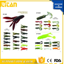 Fly Fishing Soft Silicone artificial baits coarse fishing