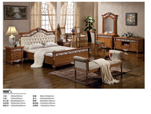 2016 antique oak reproduction bedroom furniture DXY-936