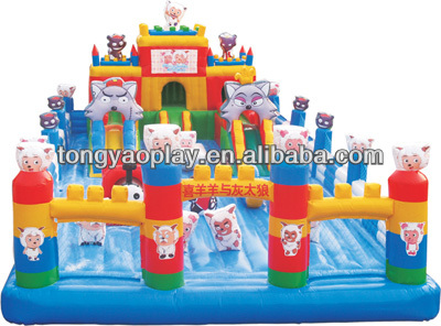 CE Approved inflatable slide bouncer obstacle, adult jumpers bouncers wholesale