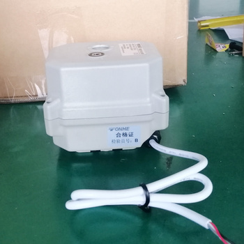 A150 12v 24v motorized valve actuator with manual override