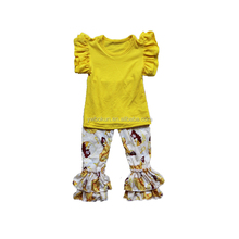 Cheap fashion hot sell children summer clothes princess outfit low price clothes for children