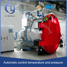 high temperature high pressure PLC control autoclave spare parts