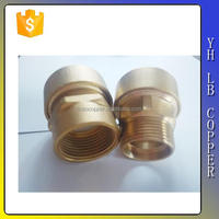 "Gutentop LinBo High Quality Brass Lead free Straight male connector , 10mm x 3/8""Push-fit x BSP parallel male thread"