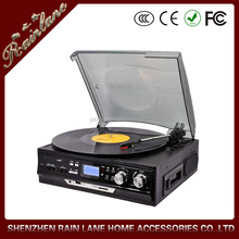Optional Radio or cassette function,High end turntable
