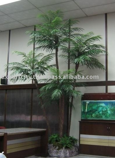 Artificial Tree Areca Palm 4, 8 to 12 feet