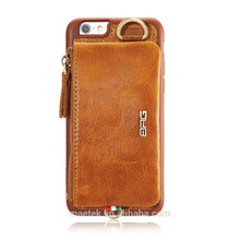 Leather Phone Wallet Mobile Case for Iphone 6 7 8 X