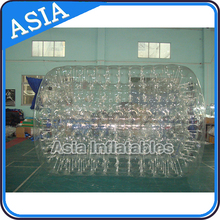 Clear Inflatable Hamster Water Roller Ball PVC or TPU high quality inflatable big beach ball water walking ball