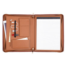 Professional Zipper Multifunction Business Portfolio Notebook