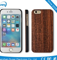 China suppliers Laser engraved custom OEM Genuine nature Blank Wood phone Case cover For iPhone 6 6S,wood case for iphone 6 6S