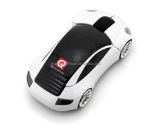 1600dpi race wireless car mouse computer for promotional