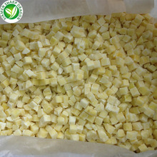 export price iqf frozen yellow diced potato