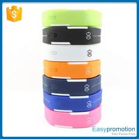 Unisex oem gift silicone wristband led watch