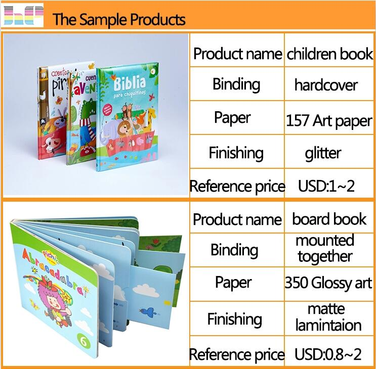 baby book printing,high quality child book,child color filling book