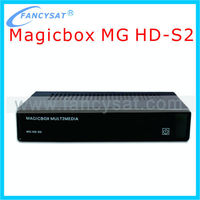 Magic box MG HD S2 Satellite Receiver with DVB-S2 Tuner Enigma 2 Linux Operate System same with zgemma star-s