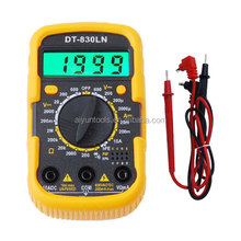 Wholesale Volt ampere watt meter unit multimeter DT-830LN