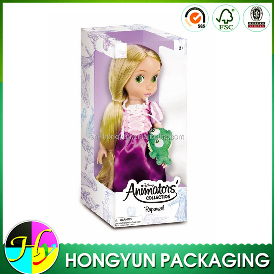 China manufacturer making color cardboard cartoon box