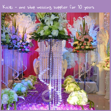 K9677 crystal table top chandelier centerpieces for weddings